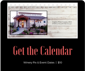 Virginia Wine Country desk calendar