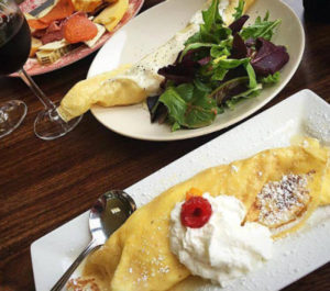 DelFosse Vineyards crepes