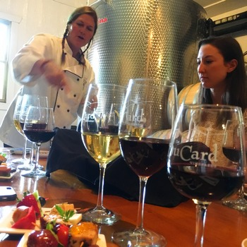 Chef Kris Krammes, DuCard Winery