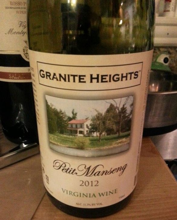 Granite Heights Petit Manseng