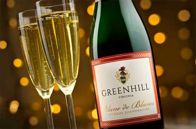 Greenhill Vineyards sparkling wine