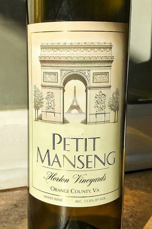 Horton Vineyards' Petit Manseng, 2019 Virginia Governor's Cup Winner