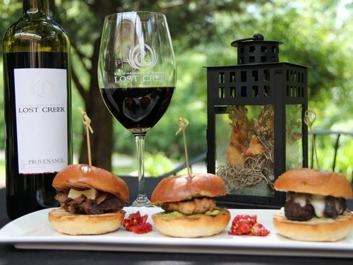 Lost Creek Vineyards sliders