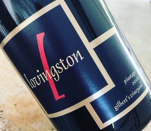 Lovingston Winery pinotage