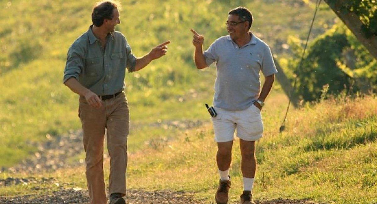 Luca Paschina and Fernando Franco, Barboursville Vineyards