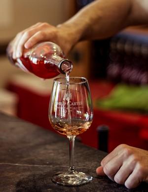 Philip Carter Winery tasting