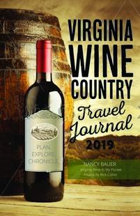 Virginia Wine Travel Journal book 2019