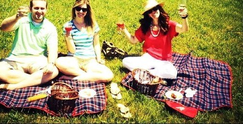 Philip Carter Winery picnic